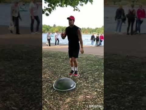 London Hyde Park outdoor workout!