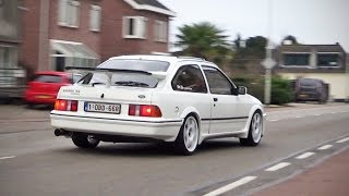 Ford Sierra RS Cosworth : Acceleration + turbo sound