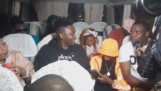 Msafara Wa DIAMOND Tumewasha Vituko vya Babalevo na GigyMoney mbele ya Rayvann, Mbosso, Juma lokole