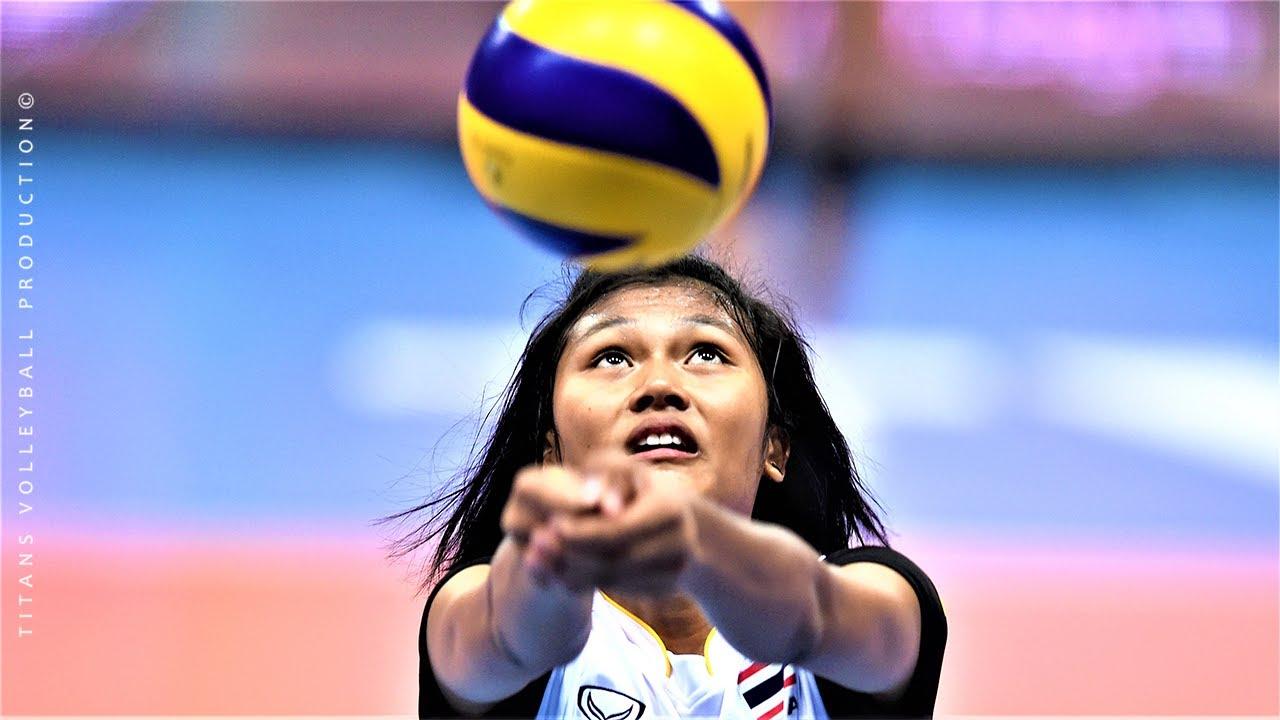 Pimpichaya Kokram (พิมพิชยา ก๊กรัมย์) - Best Volleyball Actions   World Grand Prix 2017