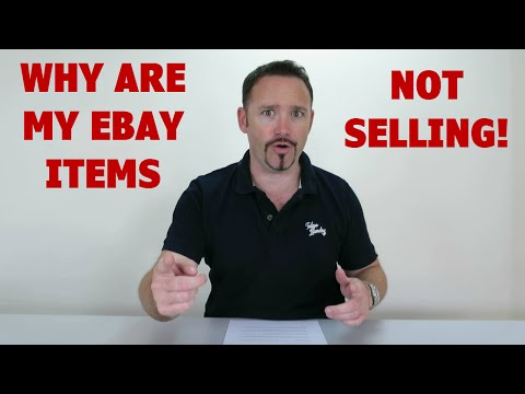 Why Are My Ebay Items Not Selling Youtube
