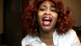 Rihanna Callifornia King Bed ... California Chicken ... By Glozell With Big Zit On Her Face Lol