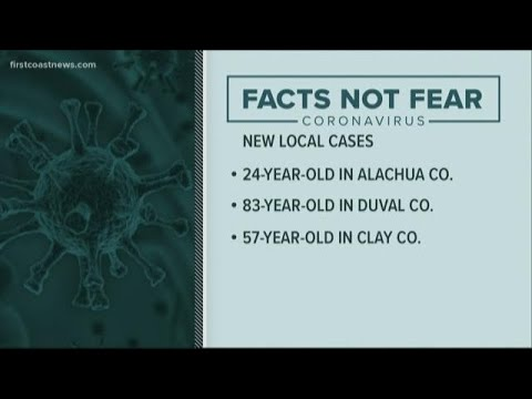 1 in Duval County, 1 in Clay County confirmed to have coronavirus ...