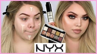FULL FACE USING ONLY NYX COSMETICS!