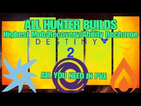 ALL Best HUNTER Builds in PvE [Destiny 2] Forsaken