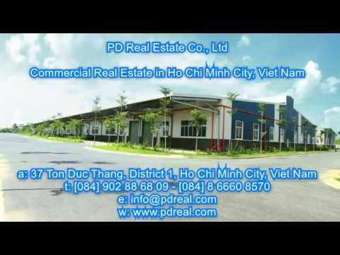 Industrial Property Lease Ho Chi Minh Viet Nam | PDReal Commercial Real Estate Services Viet Nam