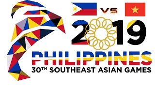Team Philippines VS Vietnam |Playoff| 30th Southeast Asian Games