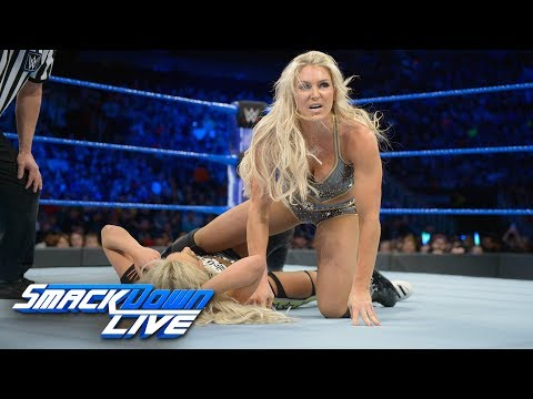 Charlotte Flair vs. Liv Morgan: SmackDown LIVE, Feb. 6, 2018 thumbnail