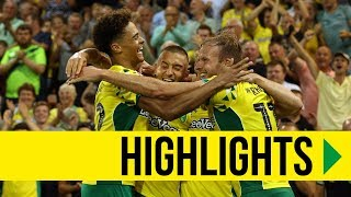 HIGHLIGHTS: Norwich City 2-0 Preston North End