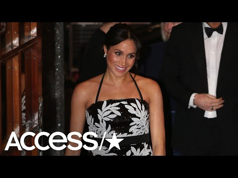 Meghan Markle Dazzles In A Sparkly Top After Reportedly Being Told To Tone Down Her 'Hollywood' Styl