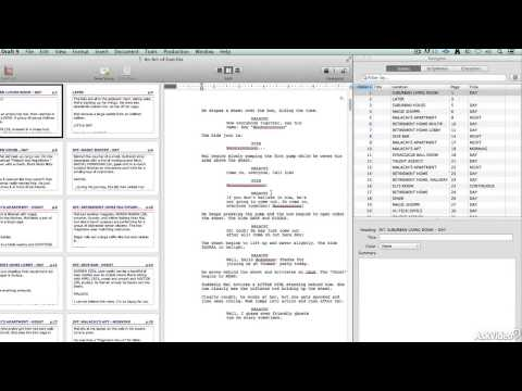 Final Draft 101: Introduction to Screenwriting - 1. Why Use Screenwriting Software