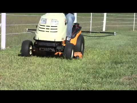 25 Gallon Trailer Sprayer with 10 Foot Breakaway Boom - Master Manufacturing