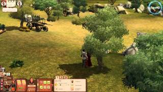 The Sims Medieval HD gameplay