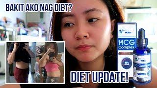MABILISANG PAMPAPAYAT!? First time using HCG DROPS!