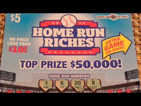 LOOK AT THE WINNER I MISSED! | HOME RUN RICHES OUTTA MD!