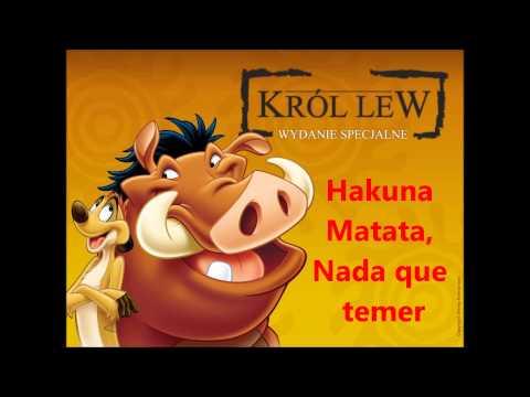 Hakuna Matata - Timon y Pumba (letra) by FelypeKun