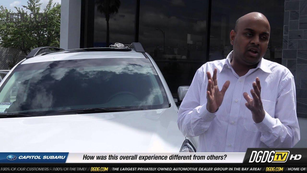 2013 Subaru Outback Customer Testimonial Capitol Subaru