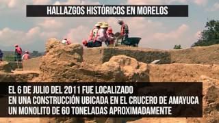 Zonas arqueológicas en Morelos