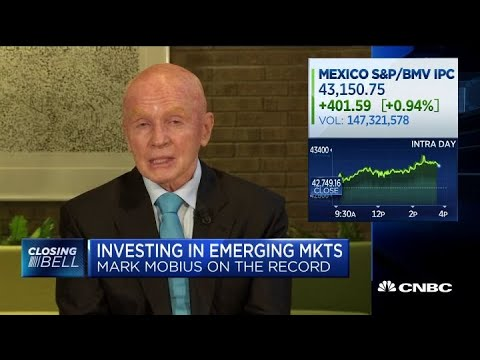 India the best emerging market right now: Mobius