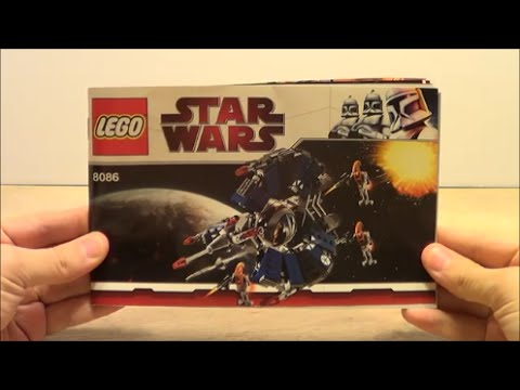 Droid Tri Fighter Lego 8086 Time Lapse Youtube
