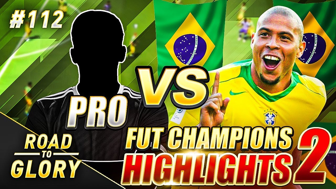R9 RONALDO VS A PRO PLAYER! FUT CHAMPS ON THE ROAD TO GLORY! FIFA 20 ULTIMATE TEAM #112