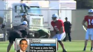Barack Obama wants Tim Tebow to start for the Ny Jets Thumbnail