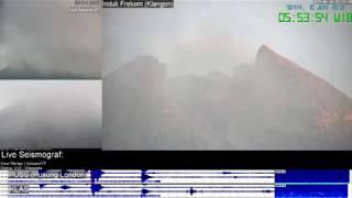 10/6/2019 - Mt Merapi TimeLapse