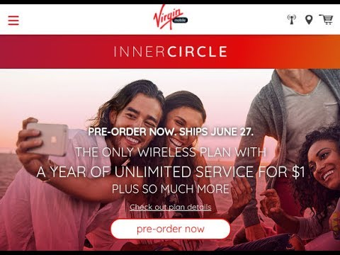 WTF! Virgin Mobile Going iPhone-Only and Offering A Year of Service For $1 THIS IS CRAZY!!