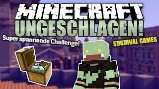 Mit dem Gegner TAUSCHEN! - Minecraft UNGESCHLAGEN #43 - Survival Games | ungespielt