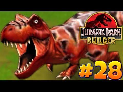 MAX LEVEL TYRANNOSAURUS!!!-Jurassic Park Builder Ep. #28