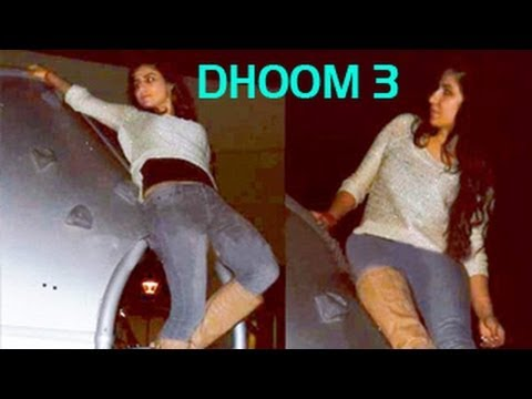 Katrina Kaif's Dhoom 3 stunts photos LEAKED!