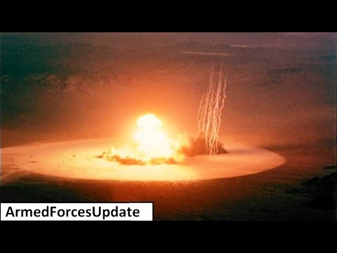 SUPER POWERFUL US Military NUCLEAR artillery gun historic footage