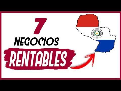 💡 7 Ideas de Negocios Más RENTABLES en PARAGUAY 2019