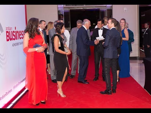 Scenes from the 'Arabian Business Achievement Awards' red carpet event