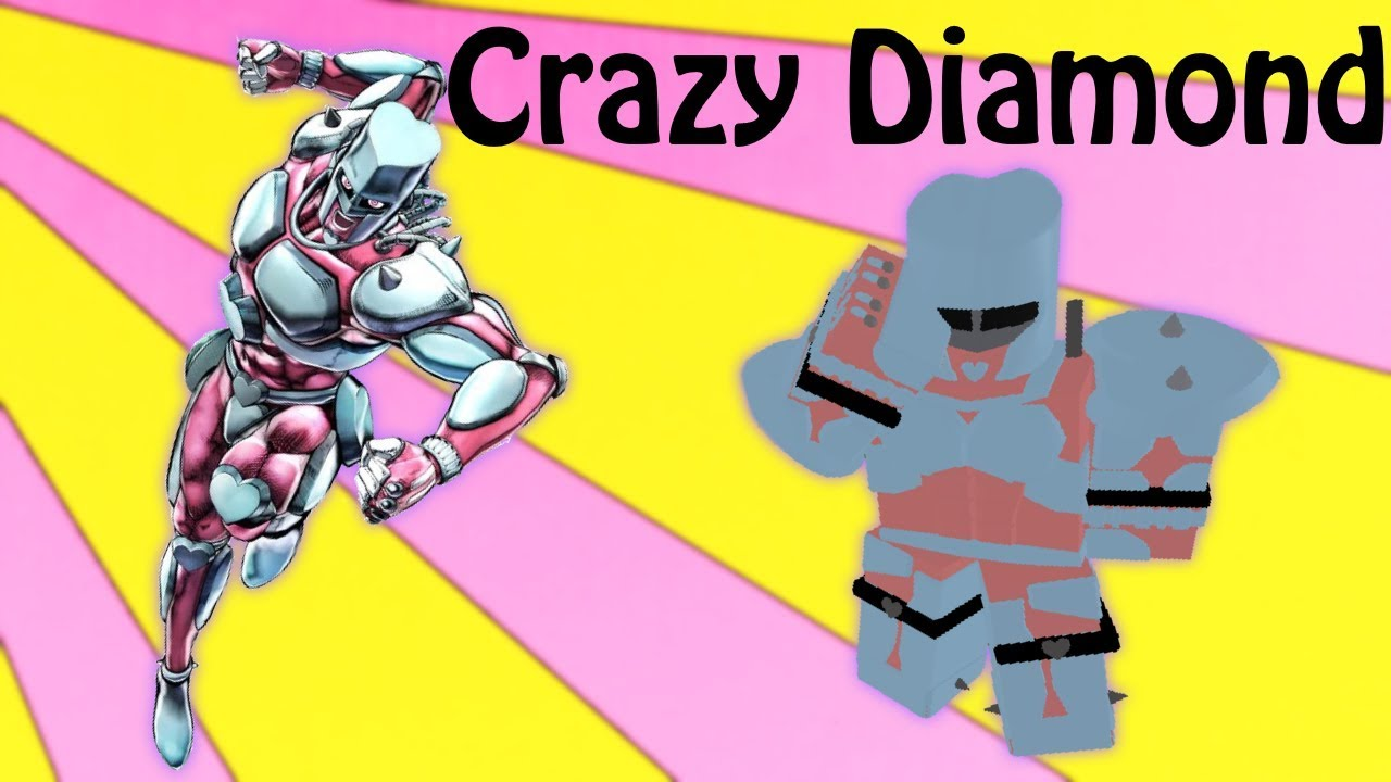 Crazy Diamond Showcase Roblox Project Jojo Youtube | crazy diamond (クレイジー・ダイヤモンド kureijī daiyamondo) is the stand of josuke higashikata, featured in diamond is unbreakable. crazy diamond showcase roblox project