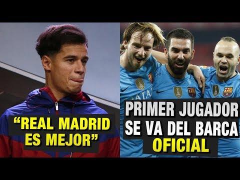 Coutinho y sus polémicas declaraciones acerca del Madrid | Primer Jugador en irse del Barcelona