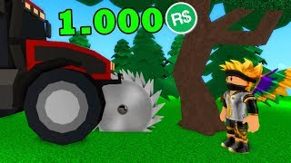 TRACTOR for the 1,000 ROBUXÓW!  -ROBLOX #428