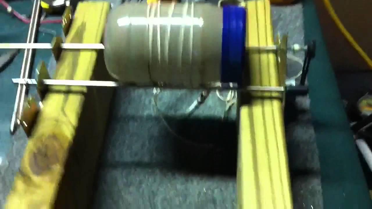 Homemade rock tumbler youtube for Diy rock tumbler motor