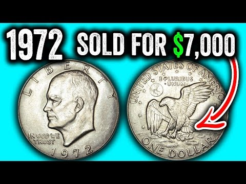 1972 IKE DOLLAR COINS WORTH MONEY - EISENHOWER DOLLAR HOW MUCH IS IT WORTH??