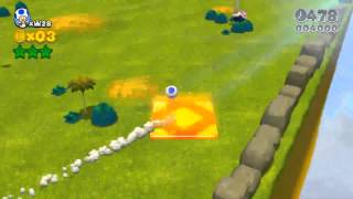 Super Mario 3D World - World Flower Green Stars