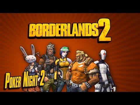Borderlands 2 - all Heads and Zero's Skin from Poker Night 2