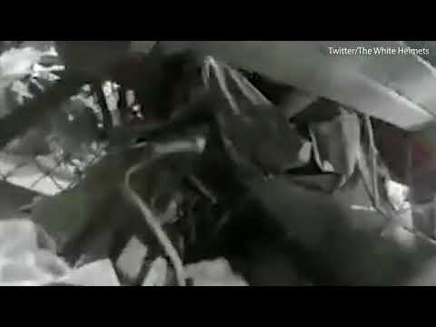 Citizen rescued after being buried alive by Russian airstrike