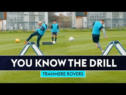 Can Bullard beat the top scorer in England?!   You Know The Drill   Tranmere Rovers