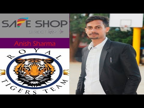 B.Tech Student Anish Sharma Silver Star(safe shop)