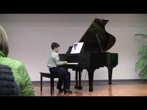 Shawn Coffin Piano Recital February 3, 2010