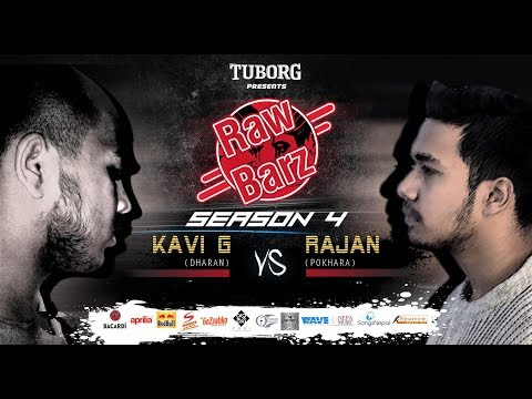 Kavi G Vs Rajan (Official Battle) | Tuborg Presents RawBarz Rap Battle S4E4