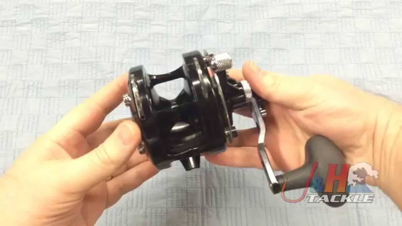 Avet HXJ MC RAPTOR 2-Speed Lever Drag Reel | J&H Tackle