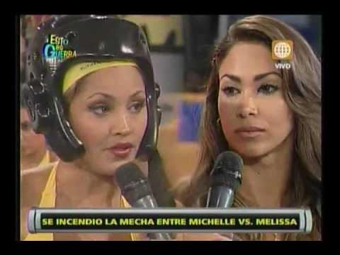 Esto es Guerra: Pelea entre Michelle Soifer y Melissa Loza - 22/03/2013