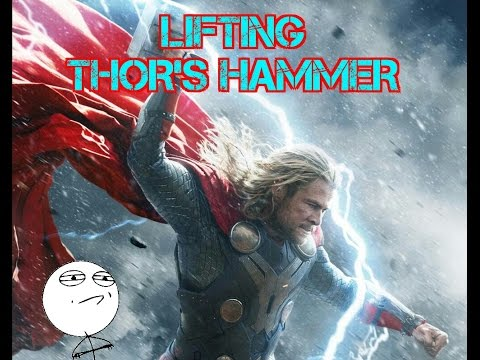 [SKETCH] The Elevator is Not Worthy (Ultron Gag Thor Hammer) from YouTube · Duration:  21 seconds