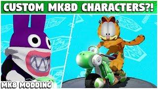 Baixar CUSTOM MODELS IN MK8 DELUXE?! | Mario Kart 8 Deluxe Modding